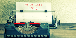 To Do List 2015